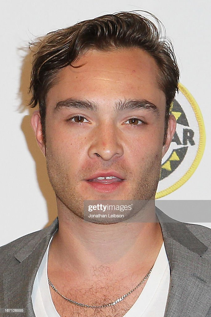 Ed Westwick attends the City Year Los Angeles' Spring Break: Destination Education at Sony Pictures Studios on April 20, 2013 in Culver City, California.