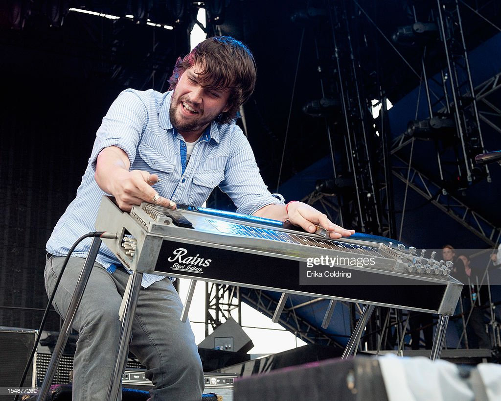 Ed Williams of Revivalists performs during the 2012 Voodoo Experience at City Park on October 27, 2012 in New Orleans, Louisiana.