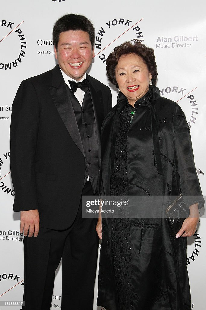 Ed Yim and Shirley Young attends the New York Philharmonic 172nd Season Opening Night Gala at Avery Fisher Hall, Lincoln Center on September 25, 2013 in New York City.