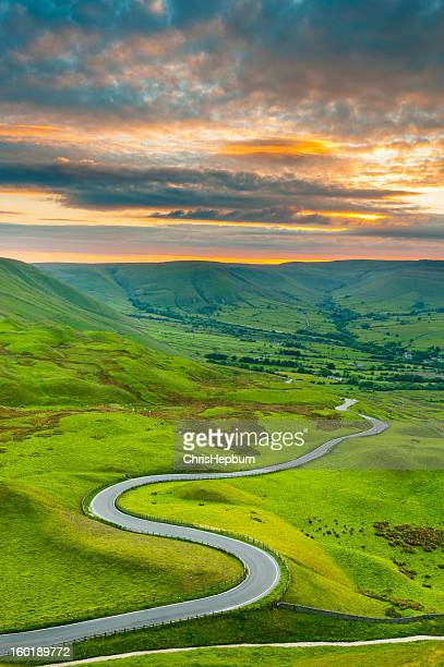 Edale Valley Road, Peak District National Park
