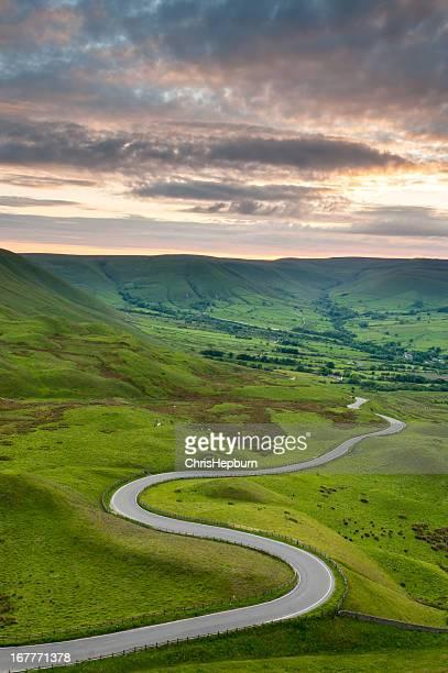Edale Valley Road, Peak District National Park