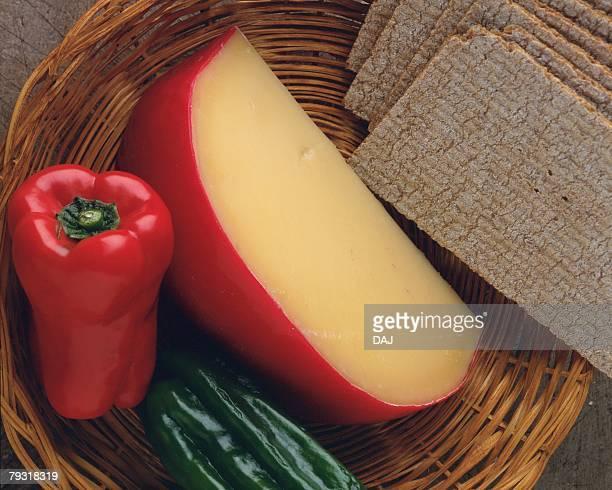 Edam Cheese, Close Up