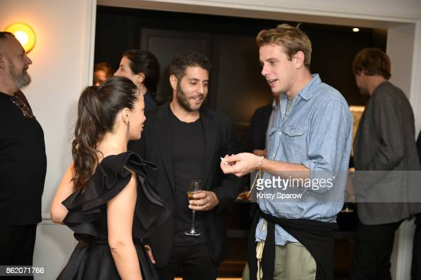 Edan Lotenberg Marc Lotenberg and Jonathan Anderson attend the Surface Magazine Fall Fashion Issue 2017 Presentation on October 16 2017 in Paris...