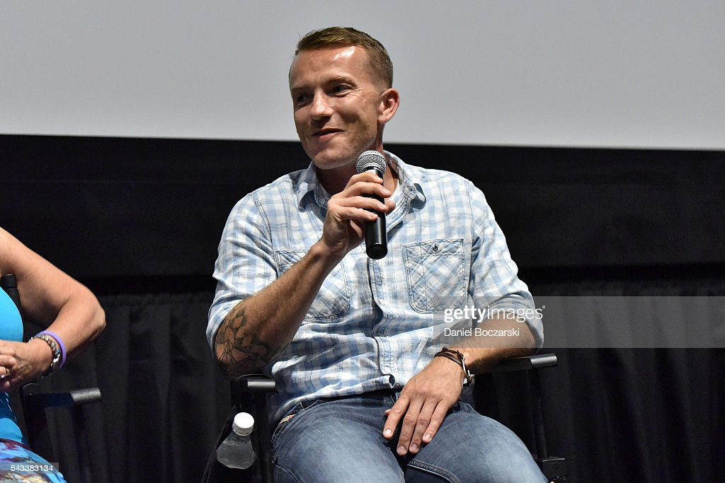 Eddie Budz attends 'Matt Shepard Is A Friend Of Mine' benefit screening and Q&A at ArcLight Chicago on June 27, 2016 in Chicago, Illinois.