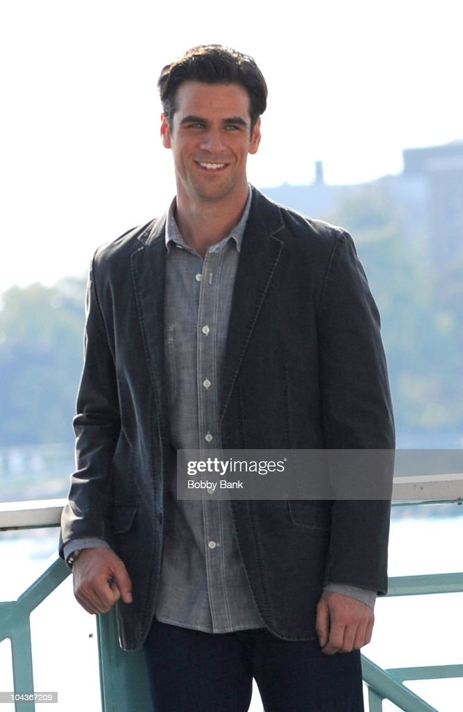 <a gi-track='captionPersonalityLinkClicked' href=/galleries/search?phrase=Eddie+Cahill&family=editorial&specificpeople=226945 ng-click='$event.stopPropagation()'>Eddie Cahill</a> seen on location for 'CSI: NY' on the streets of Manhattan on September 22, 2010 in New York City.