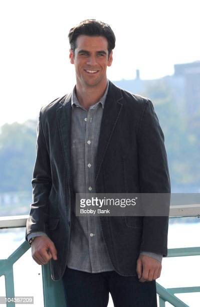 Eddie Cahill seen on location for 'CSI NY' on the streets of Manhattan on September 22 2010 in New York City