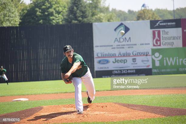 Eddie Campbell a lefthanded starter for the Clinton LumberKings said the low salaries of the minor leagues don't bother him because he's getting a...