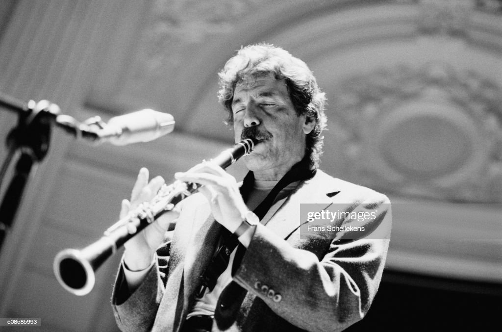 Eddie Daniels, clarinet, performs at the Concertgebouw on 9th February 1995 in Amsterdam, Netherlands.