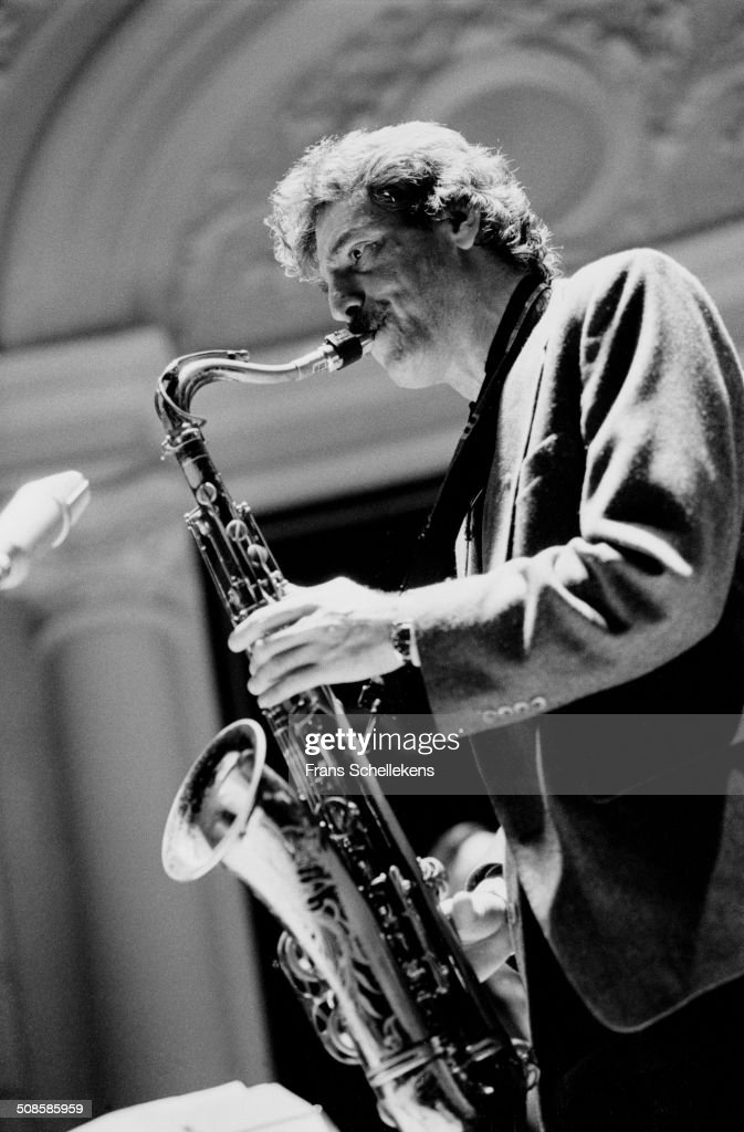 Eddie Daniels, tenor saxophone, performs at the Concertgebouw on 9th February 1995 in Amsterdam, Netherlands.