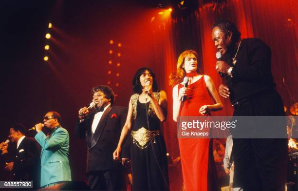 Eddie Floyd Clarence Carter Percy Sledge Ann Peebles Axelle Red Sam Moore The Soul of Axelle Red Sportpaleis Antwerpen Belgium