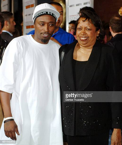 Eddie Griffin and his Mother during Deuce Bigalow European Gigolo Las Vegas Premiere Red Carpet at The Palms Hotel and Casino Resort in Las Vegas...