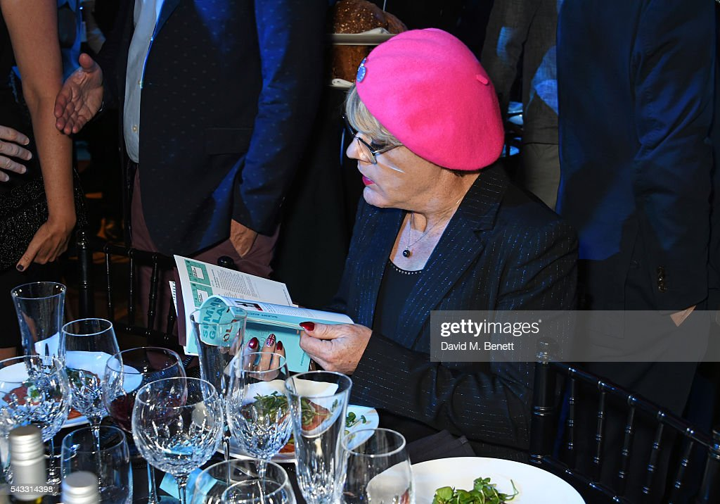 <a gi-track='captionPersonalityLinkClicked' href=/galleries/search?phrase=Eddie+Izzard&family=editorial&specificpeople=204152 ng-click='$event.stopPropagation()'>Eddie Izzard</a> attends the Summer Gala for The Old Vic at The Brewery on June 27, 2016 in London, England.