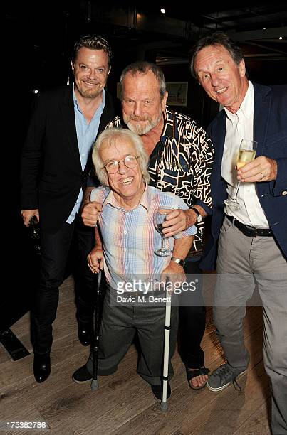 Eddie Izzard Terry Gilliam David Leland and Mike Edmonds attend a special screening of 'Time Bandits' at the BFI Southbank on August 2 2013 in London...