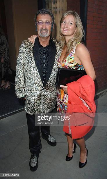 Eddie Jordan and daughter Zoe Jordan during The Biba Ball After Party Inside at Victoria Albert Museum in London Great Britain