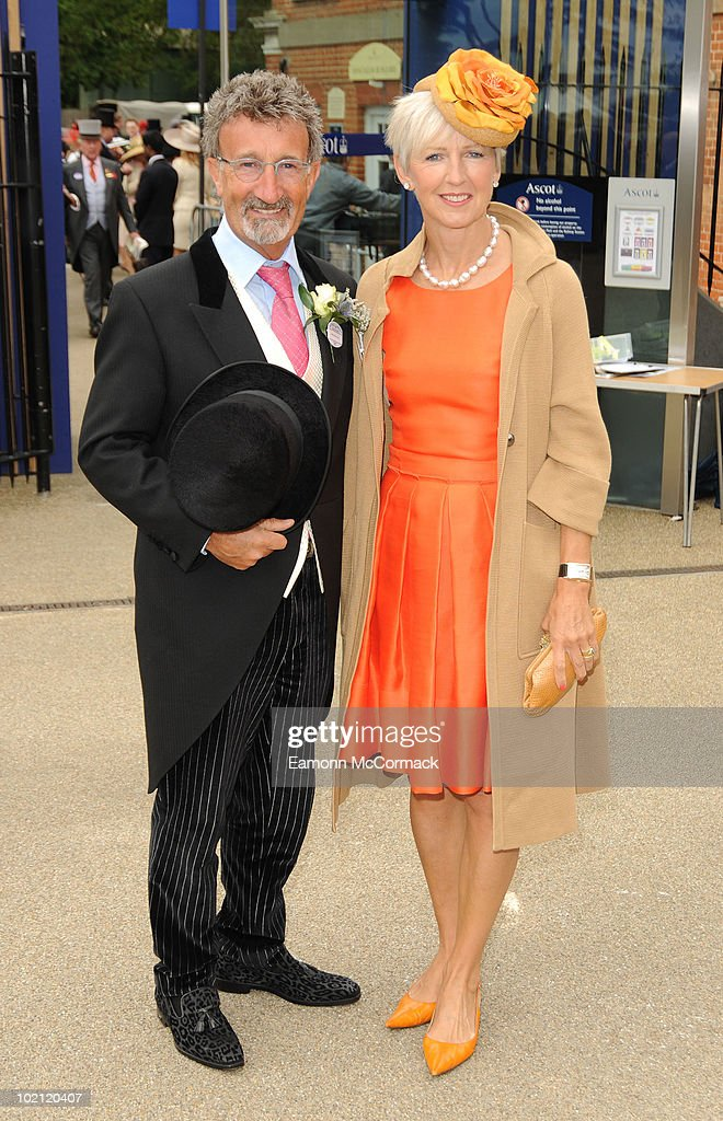Eddie Jordan and Marie Jordan attend Royal Ascot at Ascot Racecourse on June 15, 2010 in Ascot, England.