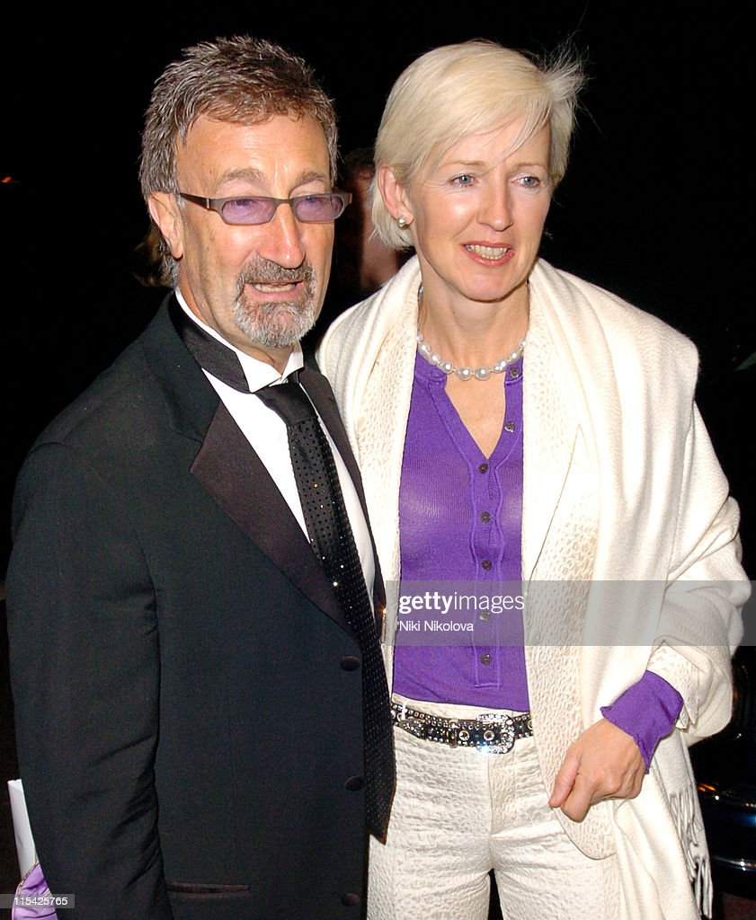 Eddie Jordan and wife during Eddie Jordan and Wife Sighting at The Dorchester in London March 16th 2006 at Dorchester Hotel in London Great Britain