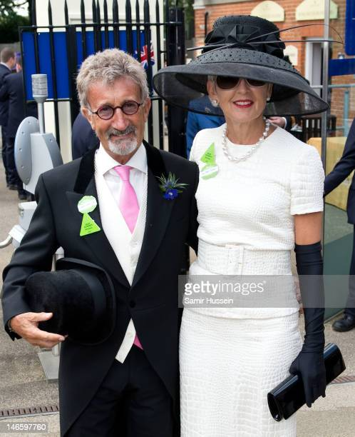 Eddie Jordan and wife Marie Jordan attend day 2 of Royal Ascot 2012 at Ascot Racecourse on June 20 2012 in Ascot United Kingdom