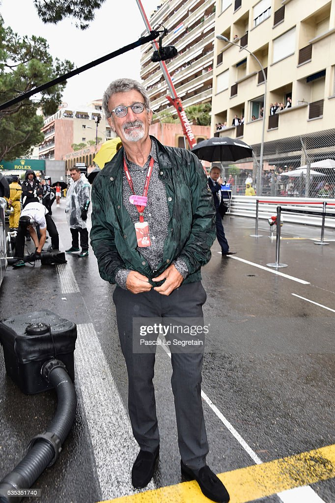 Eddie Jordan attends the F1 Grand Prix of Monaco on May 29, 2016 in Monte-Carlo, Monaco on May 29, 2016 in Monte-Carlo, Monaco.