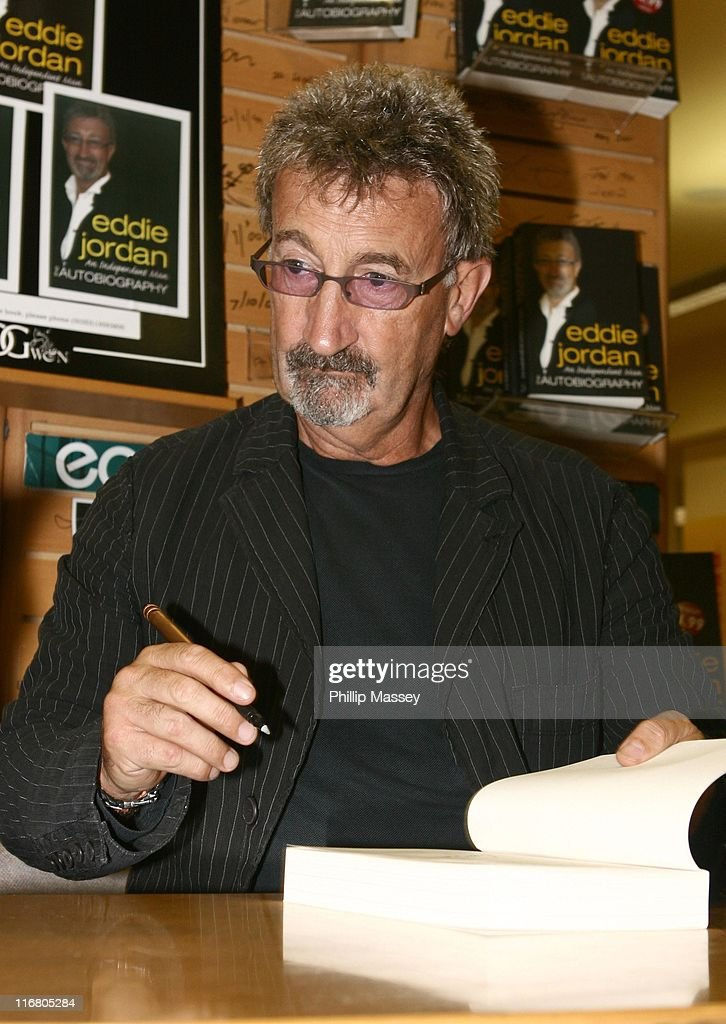 Eddie Jordan during Eddie Jordan 'An Independent Man' Book Signing May 18 2007 in Dublin Ireland