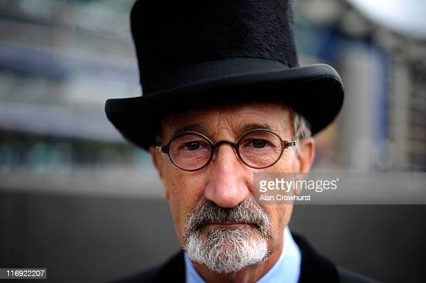 Eddie Jordan looks on during day five of Royal Ascot at Ascot racecourse on June 18 2011 in Ascot England