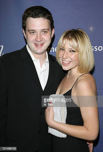 Eddie Kaye Thomas and Ari Graynor during 15th Annual Alzheimer's Benefit 'A Night At Sardi's' at Beverly Hilton Hotel in Beverly Hills California...