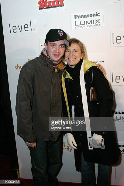 Eddie Kaye Thomas and guest during 2005 Park City Club Marquee/Layer Cake Party at Harry O's in Park City Utah United States