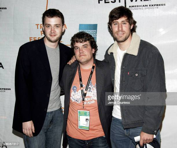 Eddie Kaye Thomas Matt Oates writer/director and Josh Cooke