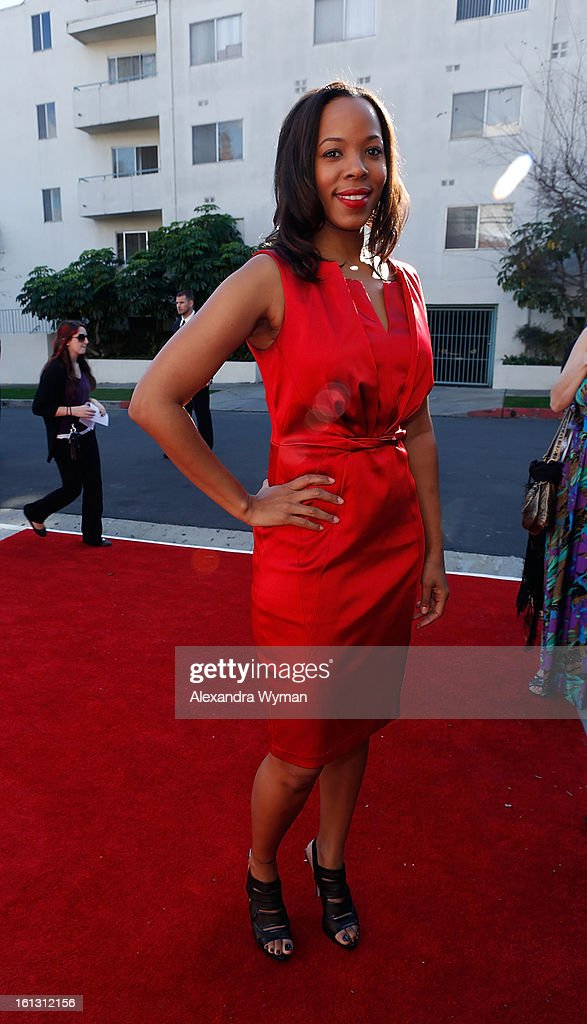 Eddie Kendricks' daughter Aika Kendrick at The 55th Annual GRAMMY Awards - Special Merit Awards Ceremony And Nominee Reception held on on February 9, 2013 in Los Angeles, California.