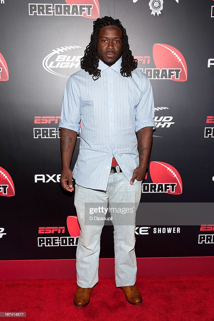 Eddie Lacy attends the ESPN The Magazine 10th annual Pre-Draft Party at The IAC Building on April 24, 2013 in New York City.