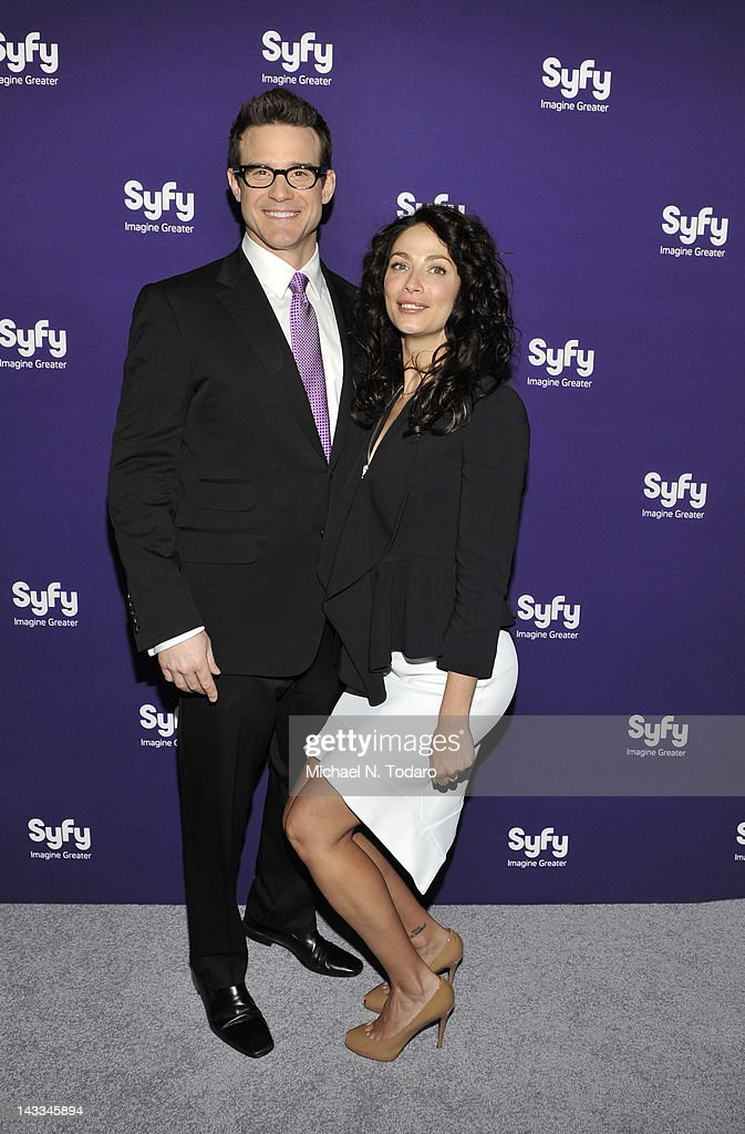 <a gi-track='captionPersonalityLinkClicked' href=/galleries/search?phrase=Eddie+McClintock&family=editorial&specificpeople=2083765 ng-click='$event.stopPropagation()'>Eddie McClintock</a> attends the Syfy 2012 Upfront event at the American Museum of Natural History on April 24, 2012 in New York City.