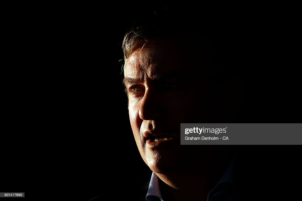 Eddie McGuire talks during the Melbourne Stars Big Bash League season launch at The Emerson on December 15 2015 in Melbourne Australia