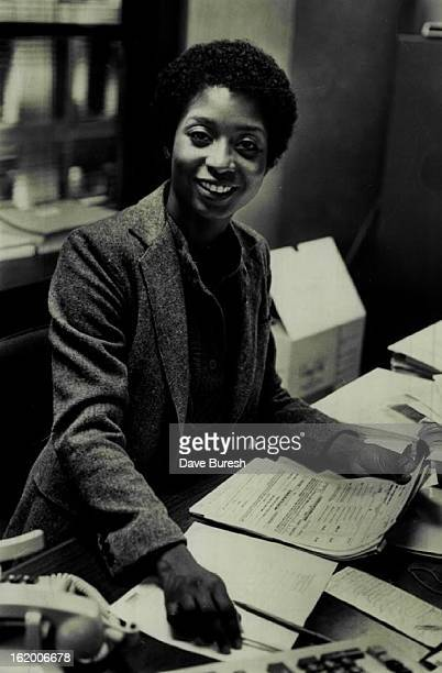 NOV 10 1979 NOV 21 1979 NOV 22 1979 Eddie Miles at work as an Assistant Supervisor at the Express Ms Miles wants to write a book on selfimprovement...