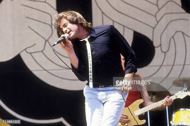 Eddie Money performing at the US Festival at Devore California on September 03 1982