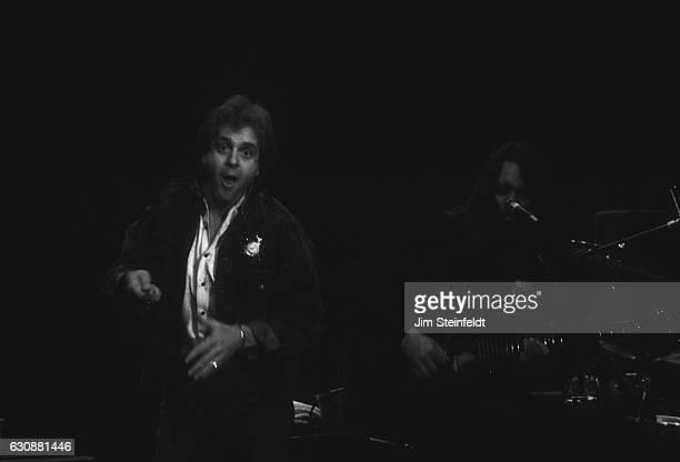 Eddie Money performs at Glam Slam nightclub in Minneapolis Minnesota on June 11 1992