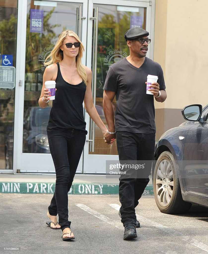 Eddie Murphy and Paige Butcher are sighted on July 20 2013 in Los Angeles California