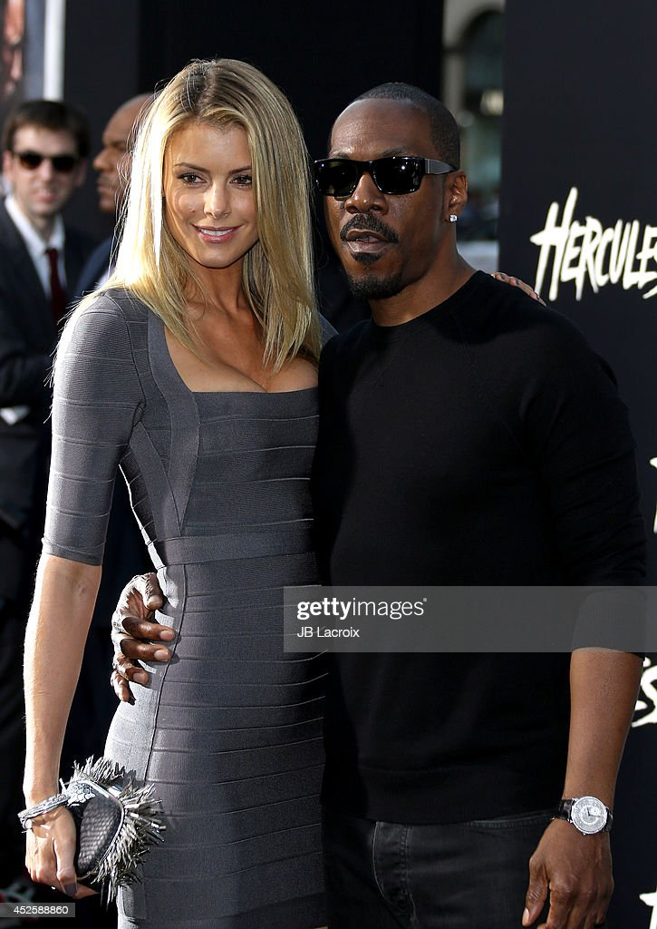 <a gi-track='captionPersonalityLinkClicked' href=/galleries/search?phrase=Eddie+Murphy&family=editorial&specificpeople=203093 ng-click='$event.stopPropagation()'>Eddie Murphy</a> and <a gi-track='captionPersonalityLinkClicked' href=/galleries/search?phrase=Paige+Butcher&family=editorial&specificpeople=2343163 ng-click='$event.stopPropagation()'>Paige Butcher</a> attend the 'Hercules' Los Angeles Premiere on July 23, 2014 at the TCL Chinese Theatre in Hollywood, California.