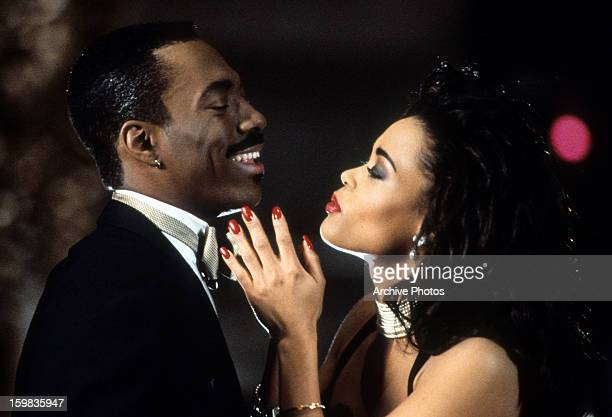 Eddie Murphy and Robin Givens in a scene from the film 'Boomerang' 1992