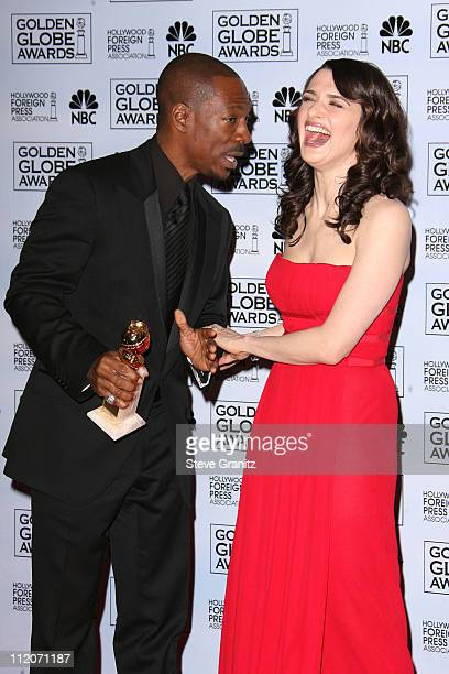 Eddie Murphy Best Performance by an Actor In A Supporting Role in a Motion Picture for 'Dreamgirls' and Rachel Weisz presenter