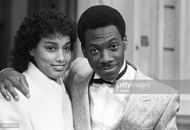 Eddie Murphy comedian and actor 21st January 1985