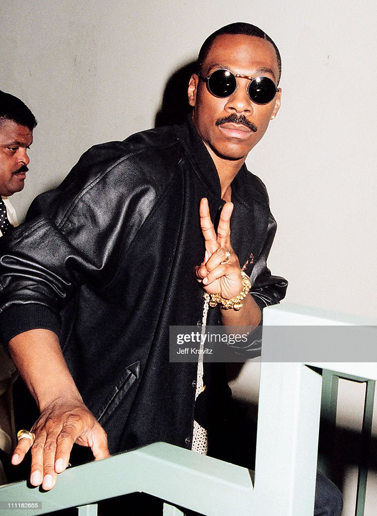 Eddie Murphy during 1993 MTV Movie Awards at Sony Studios in Culver City California United States