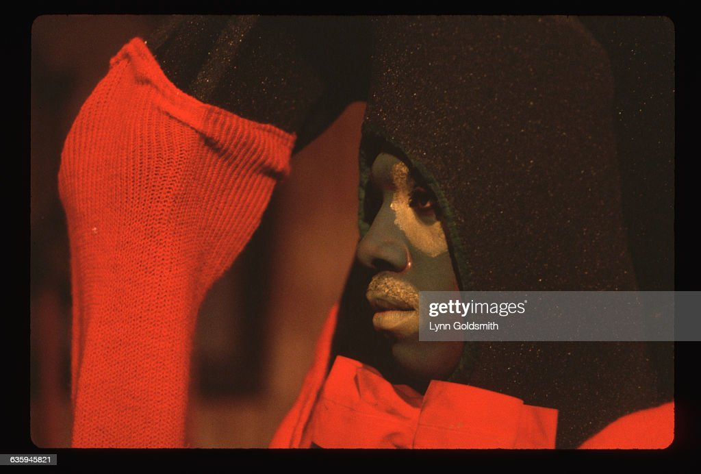 Eddie Murphy performs as Gumby in a skit on Saturday Night Live