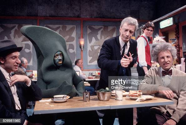 Eddie Murphy plays Gumby in a sketch with other actors including Martin Short for Saturday Night Live