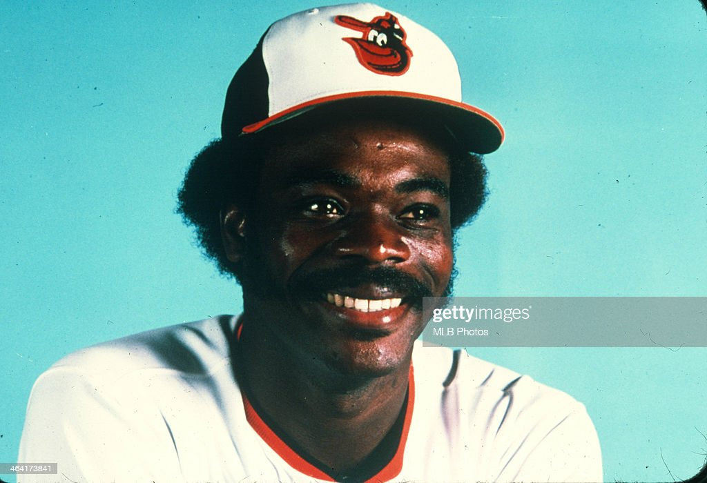 <a gi-track='captionPersonalityLinkClicked' href=/galleries/search?phrase=Eddie+Murray&family=editorial&specificpeople=210573 ng-click='$event.stopPropagation()'>Eddie Murray</a> #33 of the Baltimore Orioles poses for a portrait in an undated and unspecified location.