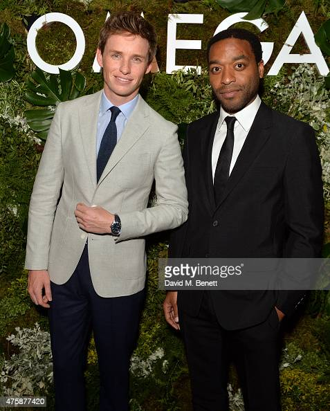 Eddie Redmayne and Chiwetel Eljiofer attend a VIP dinner hosted by OMEGA President Stephen Urquhart in honour of new international OMEGA ambassador...