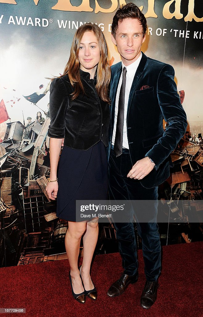 Eddie Redmayne (R) and Hannah Bagshawe attend an after party following the World Premiere of 'Les Miserables' at The Roundhouse on December 5, 2012 in London, England.