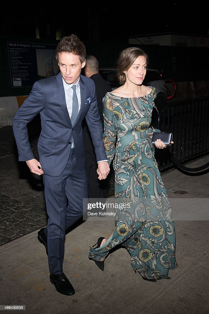 Eddie Redmayne and Hannah Bagshawe attend the 'Charles James: Beyond Fashion' Costume Institute Gala After Party at the The Standard Hotel on May 5, 2014 in New York City.
