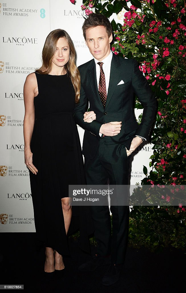 <a gi-track='captionPersonalityLinkClicked' href=/galleries/search?phrase=Eddie+Redmayne&family=editorial&specificpeople=2554844 ng-click='$event.stopPropagation()'>Eddie Redmayne</a> (L) and <a gi-track='captionPersonalityLinkClicked' href=/galleries/search?phrase=Hannah+Bagshawe&family=editorial&specificpeople=9973241 ng-click='$event.stopPropagation()'>Hannah Bagshawe</a> attend the Lancome BAFTA nominees party at Kensington Palace on February 13, 2016 in London, England.