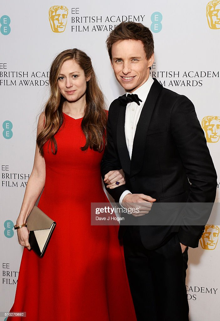 <a gi-track='captionPersonalityLinkClicked' href=/galleries/search?phrase=Eddie+Redmayne&family=editorial&specificpeople=2554844 ng-click='$event.stopPropagation()'>Eddie Redmayne</a> (L) and <a gi-track='captionPersonalityLinkClicked' href=/galleries/search?phrase=Hannah+Bagshawe&family=editorial&specificpeople=9973241 ng-click='$event.stopPropagation()'>Hannah Bagshawe</a> attends the official After Party Dinner for the EE British Academy Film Awards at The Grosvenor House Hotel on February 14, 2016 in London, England.