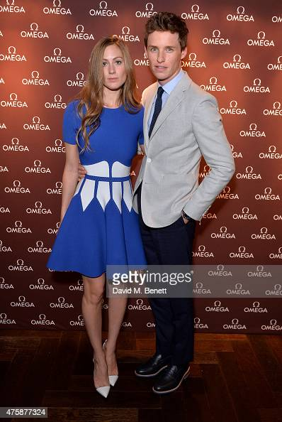 Eddie Redmayne and Hannah Redmayne attend a VIP dinner hosted by OMEGA President Stephen Urquhart in honour of new international OMEGA ambassador...