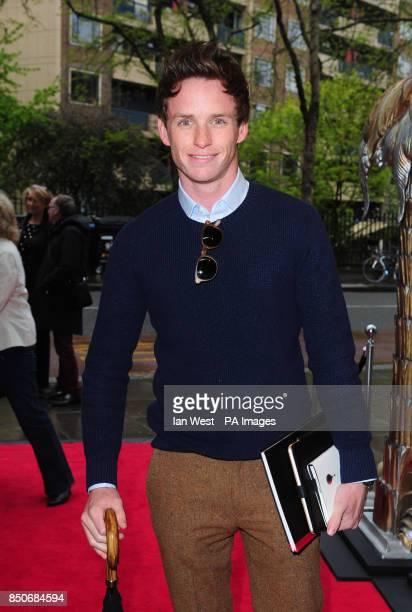 Eddie Redmayne arrives at the Northern Ballet's The Great Gatsby at the Sadler's Wells theatre in London